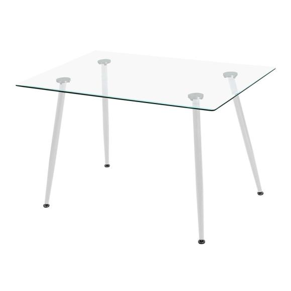 table moderne verre