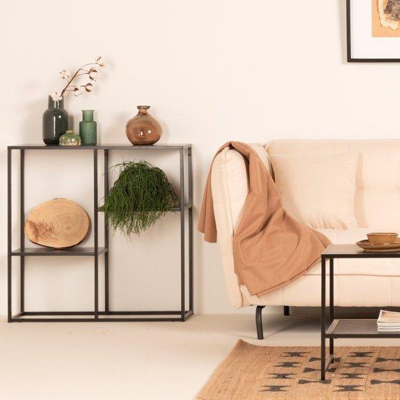 décoration étagère en acier