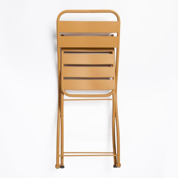 chaise strong jaune