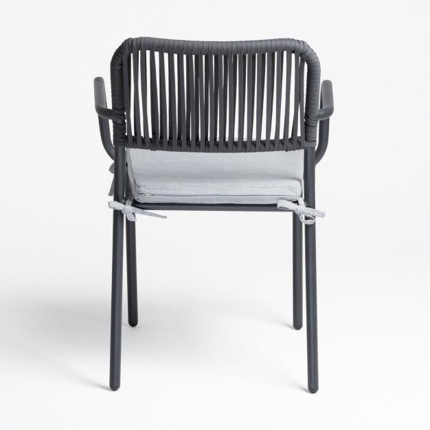 chaise de jardin gris