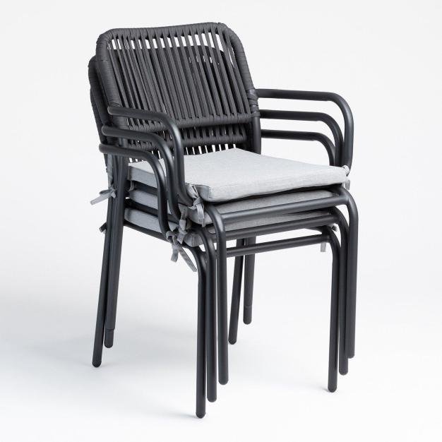 chaise empilés extérieur