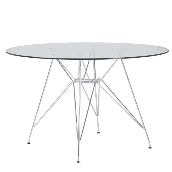 table eiffel verre
