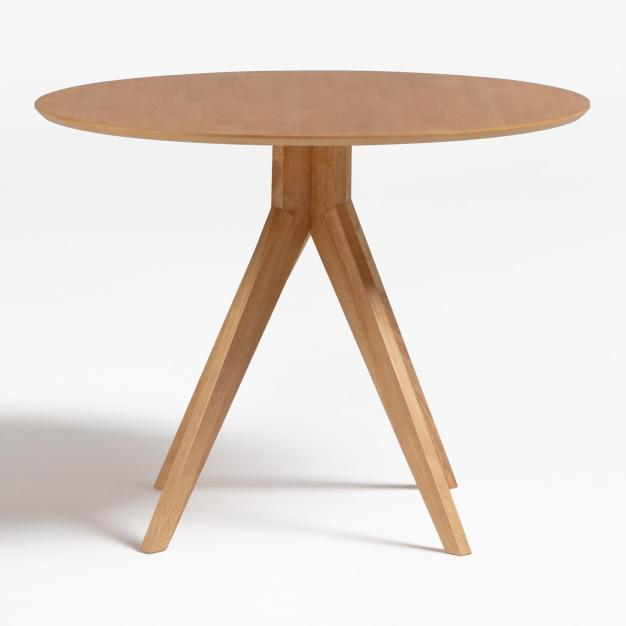table ronde beige