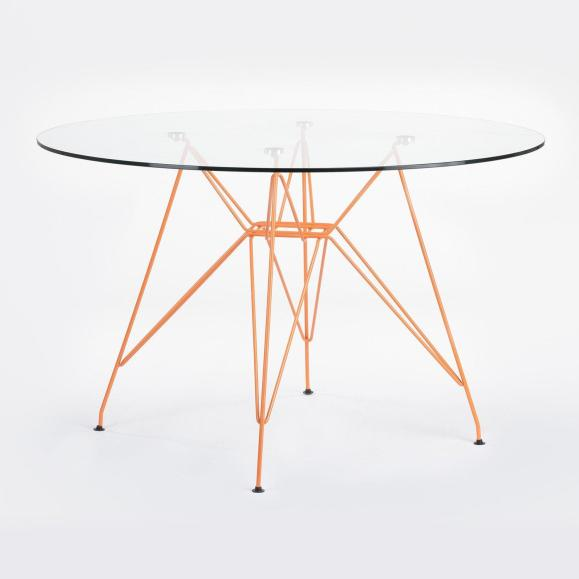 table eiffel orange