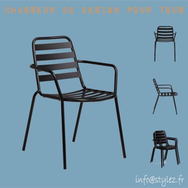 T chaise alu