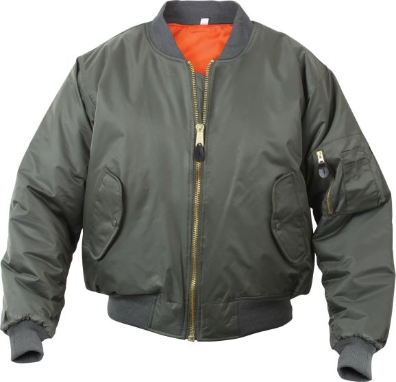 flight jacket 1 ebaydotcom