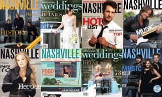 Nashville Lifestyles magazine covers. Styling and design by Katie Jacobs.