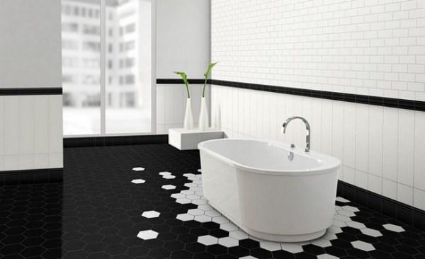 Напольная плитка для ванной и кухни: новые идеи + 25 ...