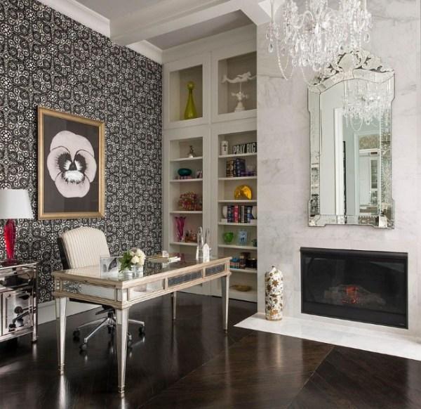 Интерьер домашнего кабинета в средиземноморском стиле: 25 ...