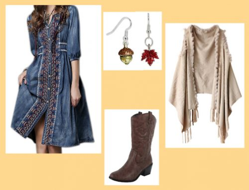 Fall Baby Shower Outfit 2
