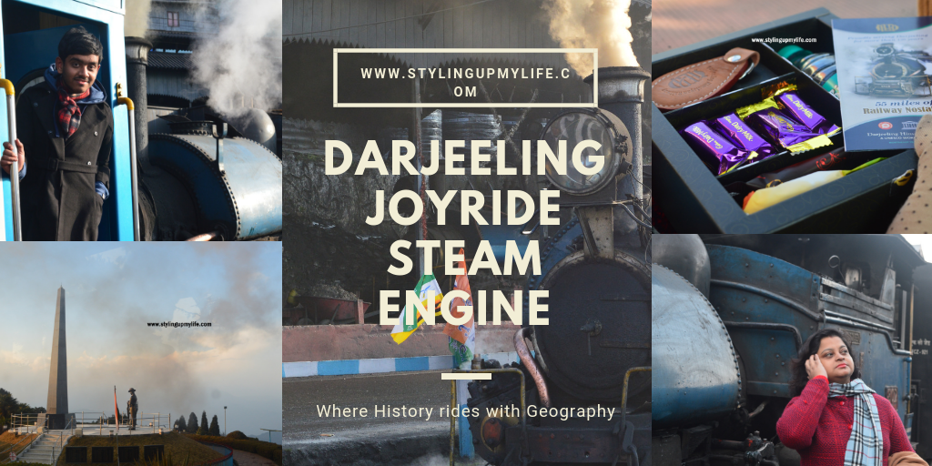 Darjeeling Joyride Steam Engine: Where History rides with Geography