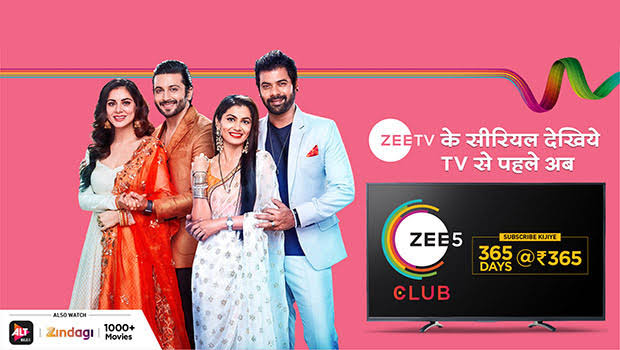 ZEE5 Club Pack, Kumkum bhagya. Kundali bhagya, Best subscription pack, OTT platform
