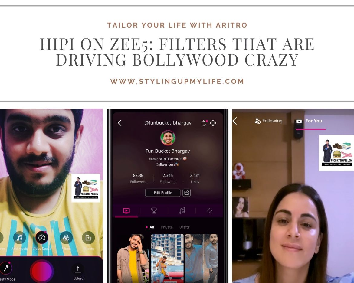 HiPi on ZEE5: Filters that are driving Bollywood crazy