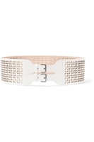 AlaÔa - Laser-cut leather waist belt