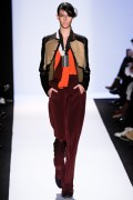 Rich autumnal hues and interesting fabrics.