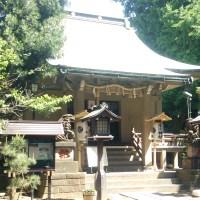 上目黒氷川神社の本殿