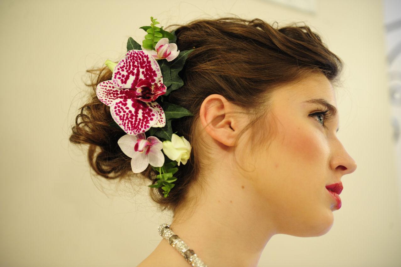 Floral Headpieces For Brides