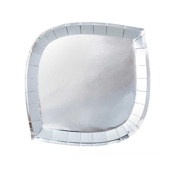 silver die cut plates