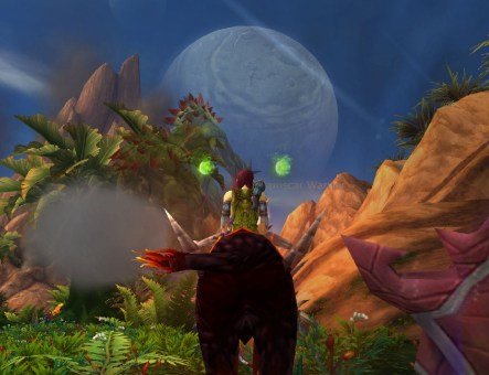 Two moons over draenor
