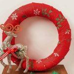 Dollar Tree Christmas Wreath Easy Diy Christmas Craft