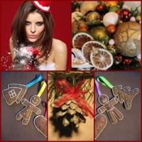 Ręcznie robione ozdoby świąteczne