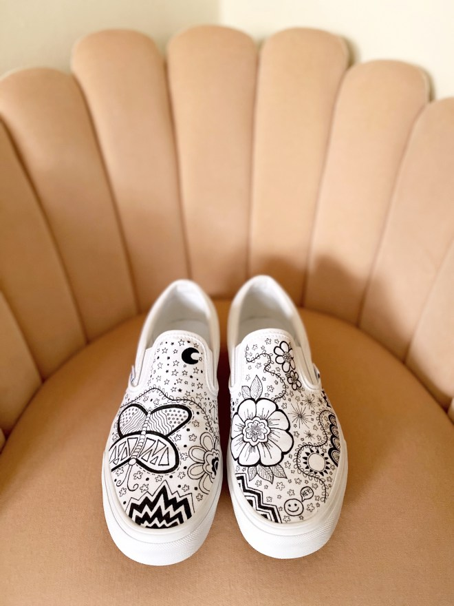 Hand-Drawn Vans