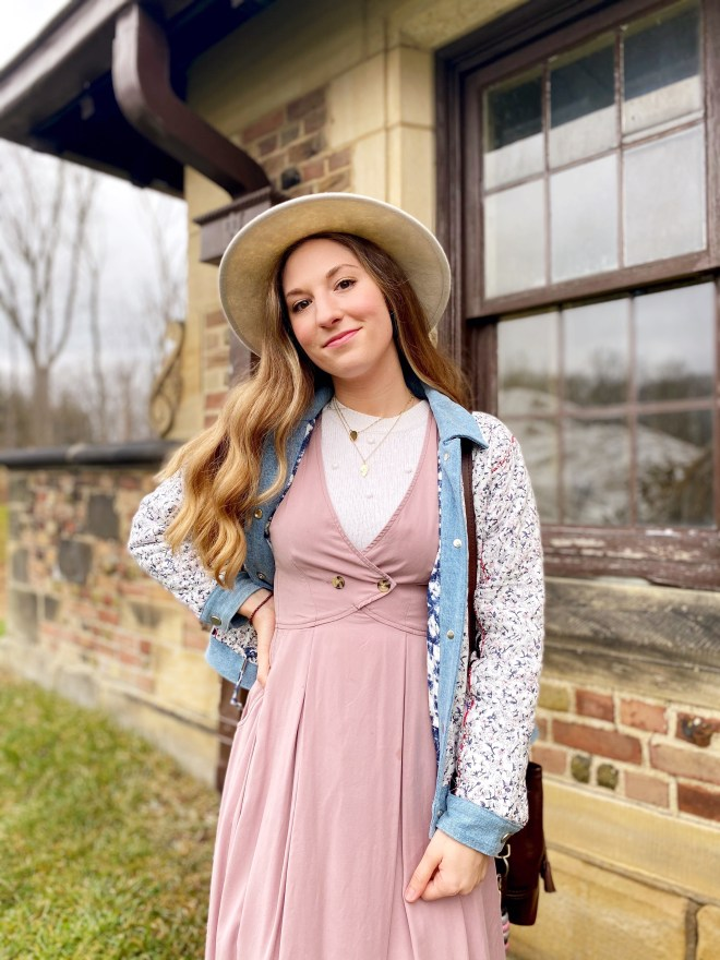 Stylishly Good Vibes - How to Style a Midi Dress
