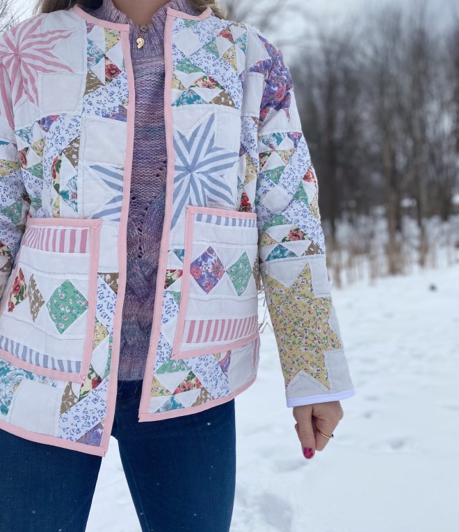 How to Make a Quilted Coat