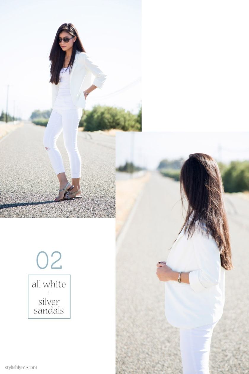 dcf928824e All White jeans Outfit - 15 Stylish Ways to Wear White Jeans
