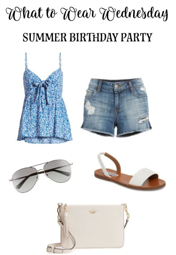 What to Wear Wednesday – Summer Birthday Party