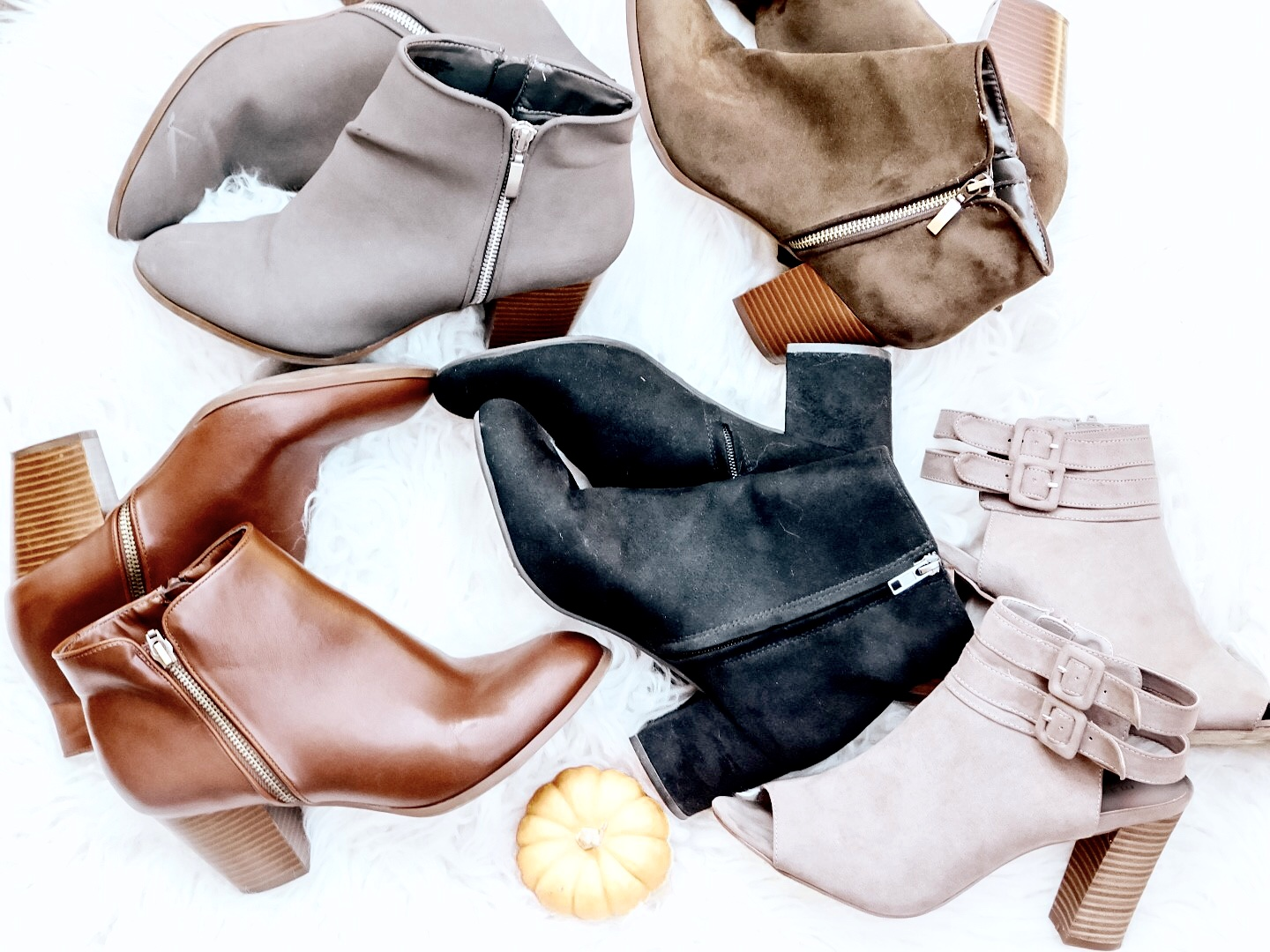 Fall Favorite – Ankle Booties under $100