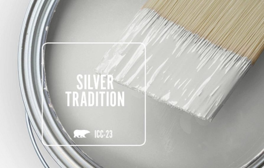 silver tradition Behr neutral paint