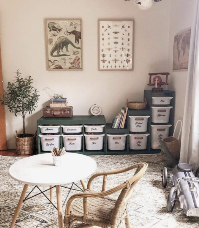 french quarter green jolie paint storage