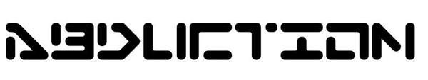 9. futuristic font