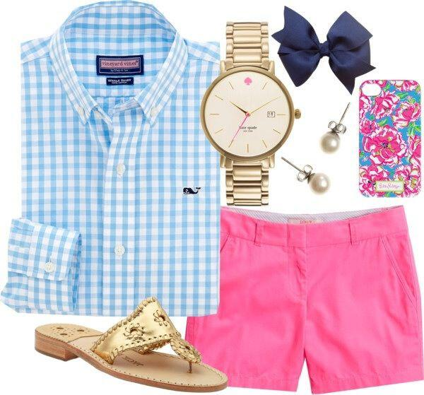 7 Cute Preppy Outfits For Summer To Copy