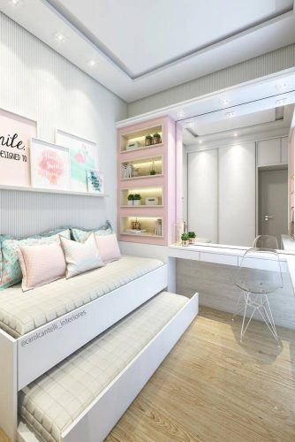 18 INSPIRING TEEN BEDROOM IDEAS YOU WILL LOVE - My Stylish Zoo on Girls Bedroom Ideas For Very Small Rooms  id=63904