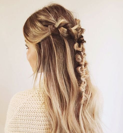 20 beautiful hair braids that are deceptively easy to create   Stylist The Macrame Braid