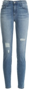 High Waist Ankle Skinny Jeans By Current Elliot £225