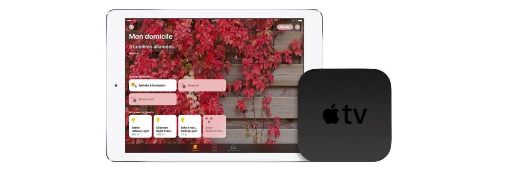 Apple TV ipad Homekit Homepod