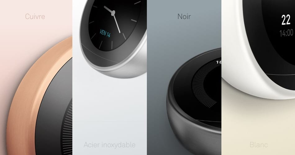 thermostat nest 3 couleurs 2018