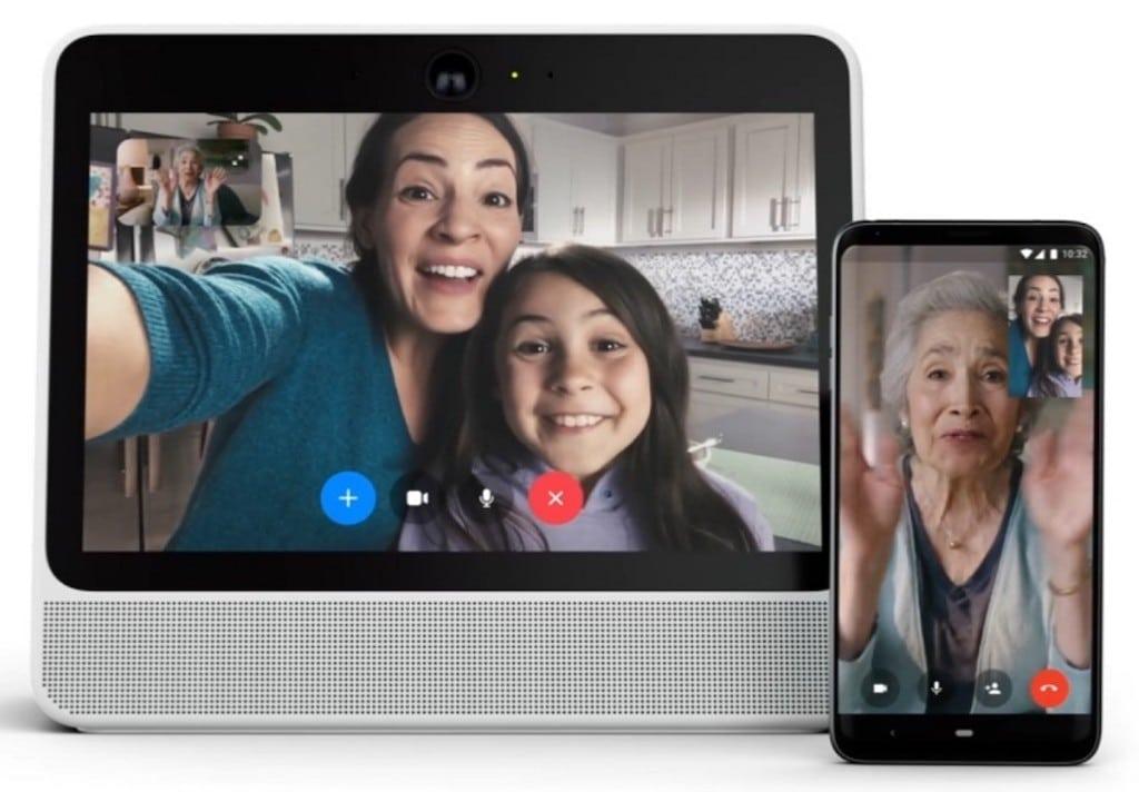 Facebook Portal messenger appel video