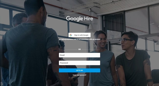 Google Hire application recrutement offres d'emplois