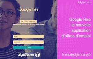 google hire site recrutement offres emplois