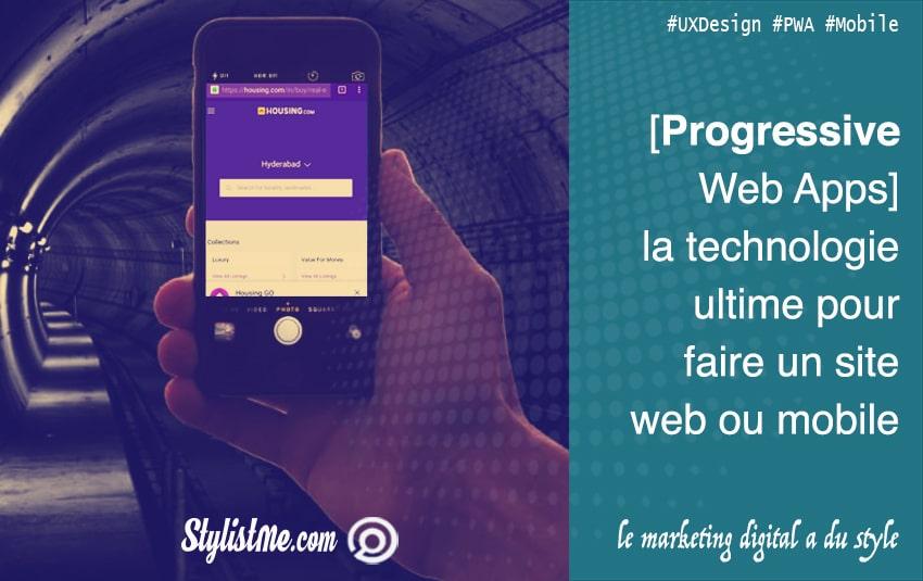 progressive web apps la solution ultime pour réaliser un site web mobile