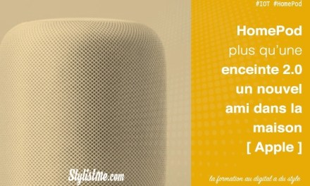 Apple HomePod enceinte connectée et assistant personnel – avis test
