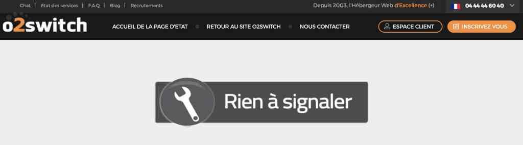 O2switch avis test assistance hébergement français de qualité