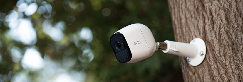 caméra de surveillance connectée arlo pro