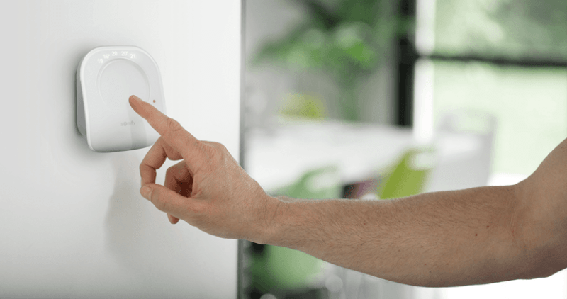 Somfy thermostat connecté test avis