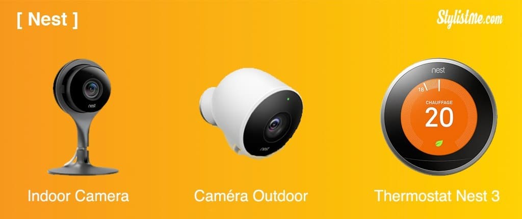 Nest objets connectés Google Home HomePod Amazon Echo