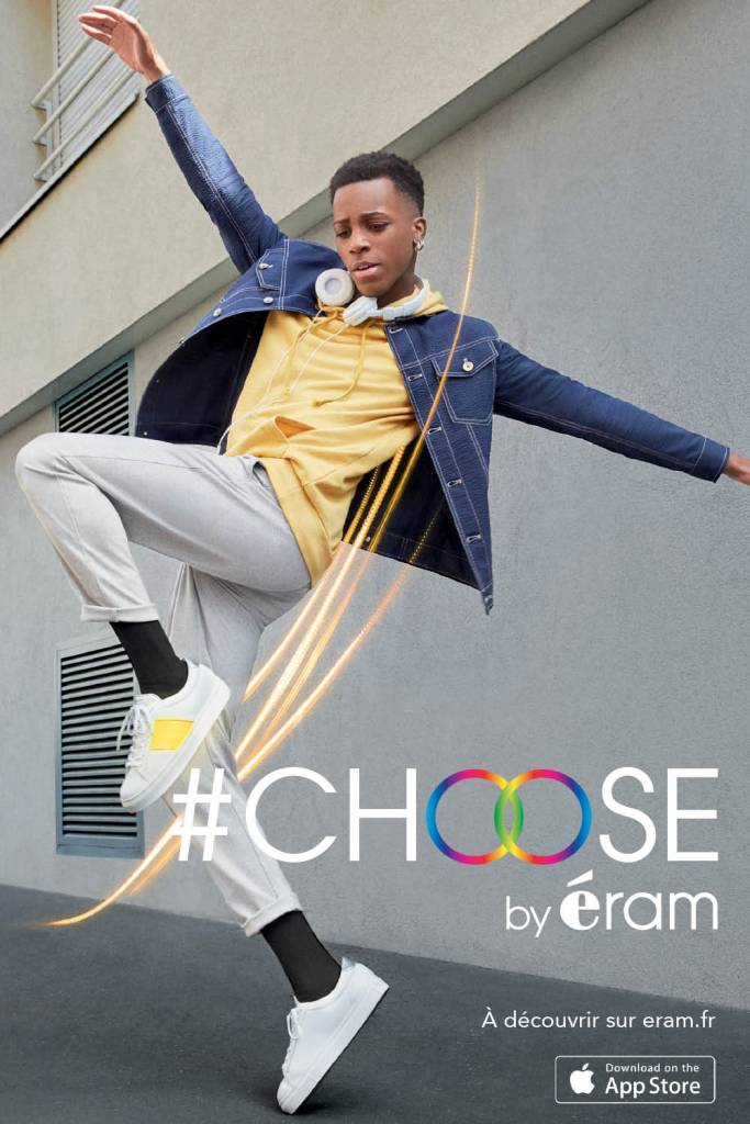 #choose by eram baskets connectées